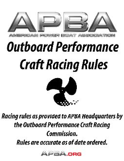 OPC Racing Rules