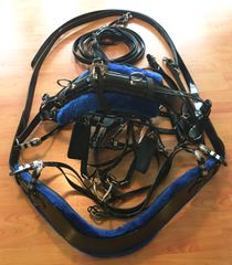 """IN STOCK SALE"" Biothane Deep V Harness"