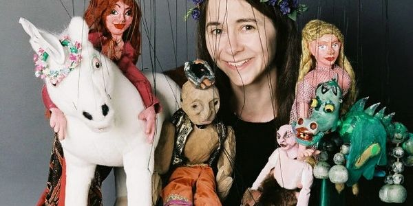 Photo by Lynn wayne. Rosalita's Puppets. Puppet shows in Boston. Marionettes