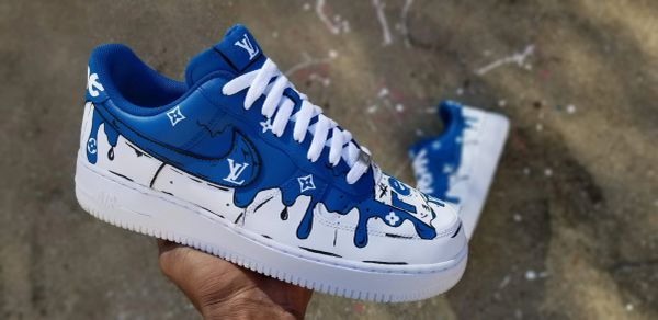 Custom Designer Drip Nike Air Force 1 Low