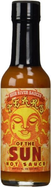 "High River Sauces Tears Of The Sun Hot Sauce – (Twelve ""12"" Pack Of 5.4 Oz. Bottles)"