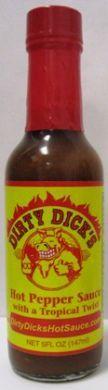 Dirty Dick's Hot Pepper Sauce – (Single 5 Oz. Bottle)