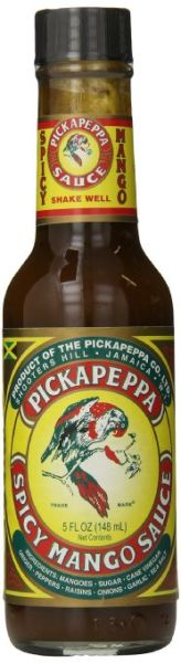 Pickapeppa Spicy Mango Sauce – (Single 5 Oz. Bottle)
