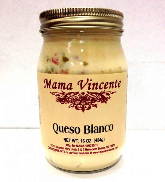 "Mama Vincente Queso Blanco - (Two ""2"" Pack Of 12 Oz. Bottles)"