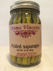 "Mama Vincente Pickled Asparagus - (Two ""2"" Packs of 12 Oz. Bottles)"