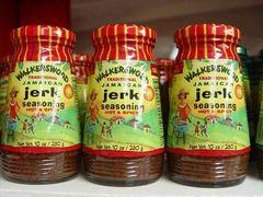 """Walkerswood Hot & Spicy Traditional Jamaican Jerk Seasoning – (Three """"3"""" Pack of 10 Oz. Bottles)"""