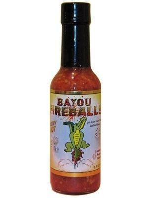 "Bayou Fireballs Louisiana Pepper Sauce – (Three ""3"" Pack Of 5 Oz. Bottles)"