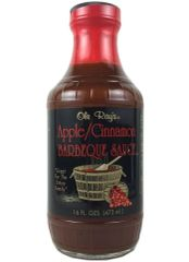 "Ole Ray's Apple/Cinnamon Barbeque Sauce - (TWO ""2"" Pack of 16 Oz. Bottles)"