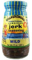 """Walkerswood Mild Traditional Jamaican Jerk Seasoning – (Three """"3"""" Pack of 10 Oz. Jars)"""