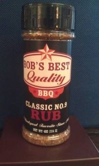 Bob's Best Quality BBQ Classic No.9 Rub - (3 Pack)