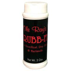Ole Ray's Rubb-It Dry Rub & Marinade - (3 Pack)