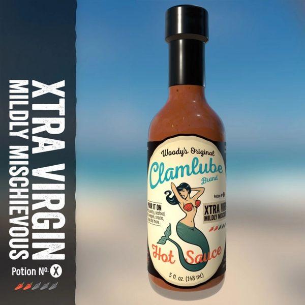 Woody's Clamlube Potion No. X Extra Virgin Mildly Mischievous Hot Sauce - (3 Pack)