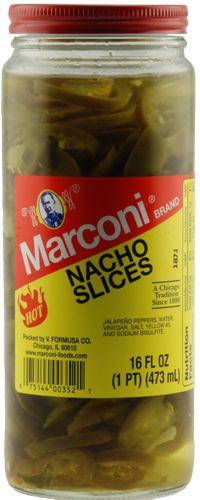 Marconi Nacho Jalapeno Slices (3 Pack)