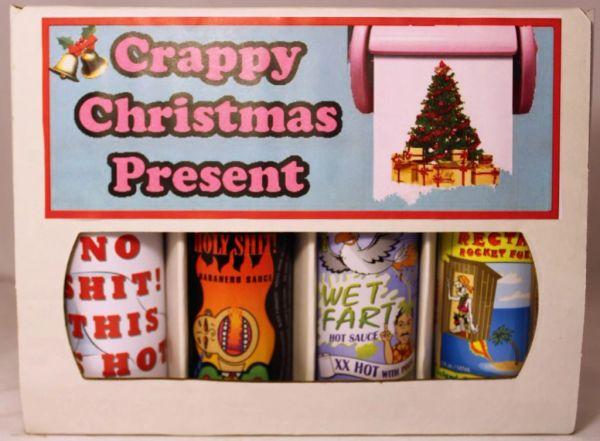 Crappy Christmas Present - (4 Pack Gift Set)