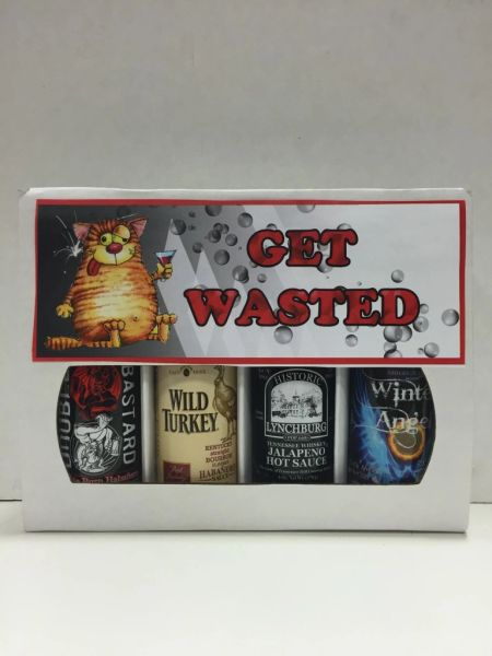 Get Wasted - (4 Pack Gift Set)