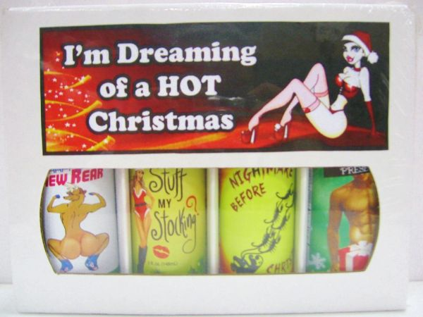 I'm Dreaming Of A Hot Christmas - (4 Pack Gift Set)