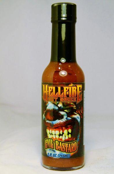 Hellfire Hot Sauce Evil Bastard - (3 Pack)
