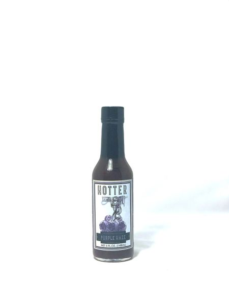 Hotter Than El Purple Haze Handcrafted Hot Sauce - 5oz