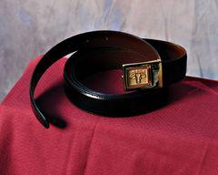 Santa Gertrudis Leather Dress Belt