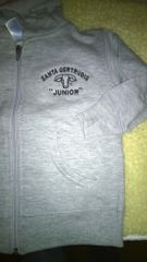 INFANT and TODDLER full zip hoodie