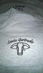 Santa Gertrudis Embroidered Long Sleeve Tee