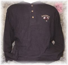 Santa Gertrudis Embroidered Thermal Henley