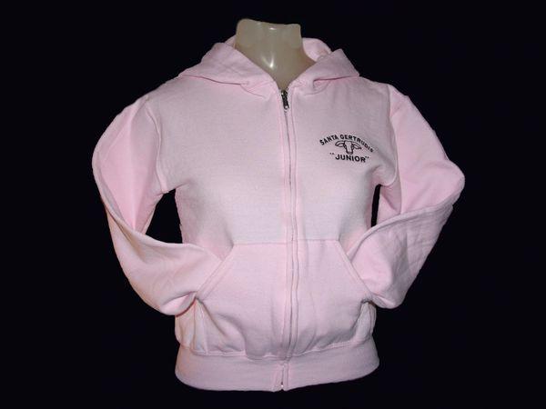 Santa Gertrudis Youth Size Full Zip Sweatshirt Hoodie