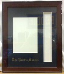 Peddie Photo Frame w/ Tassel Cut-out