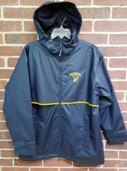 Charles River Navy Raincoat