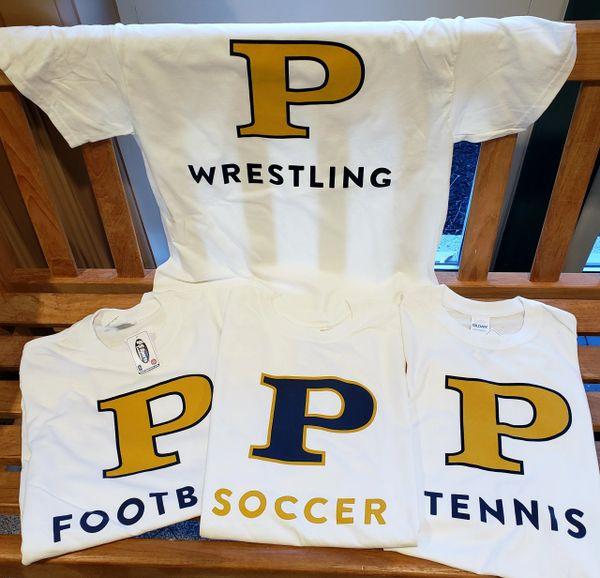 P Monogram Sports T-Shirts