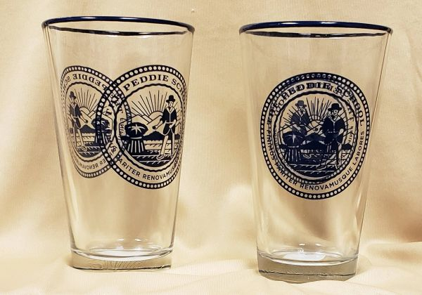 Peddie Pint Glass