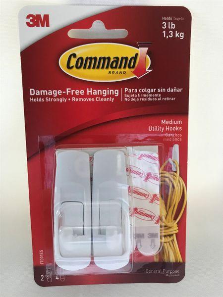 Command Brand Medium Hooks