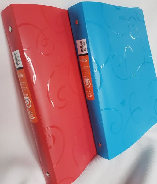 "1"" Poly Floppy Binder"