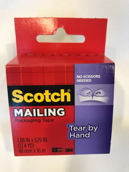 Scotch Mailing Packaging Tape