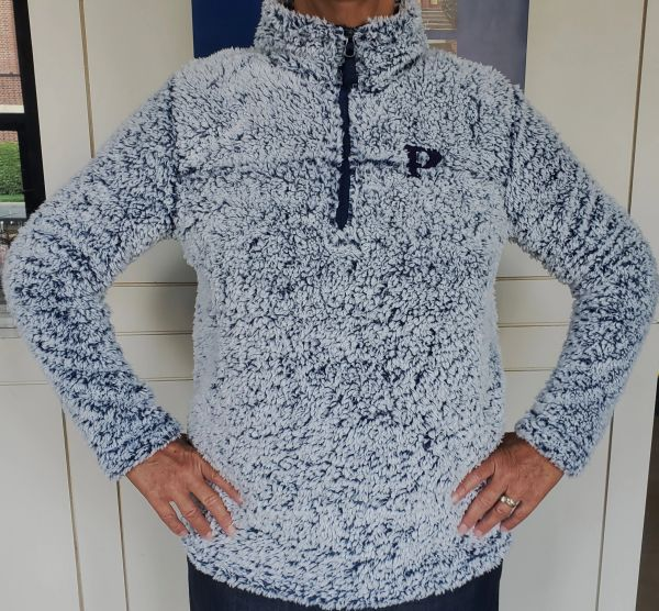 Ladies 1/4 Zip Sherpa