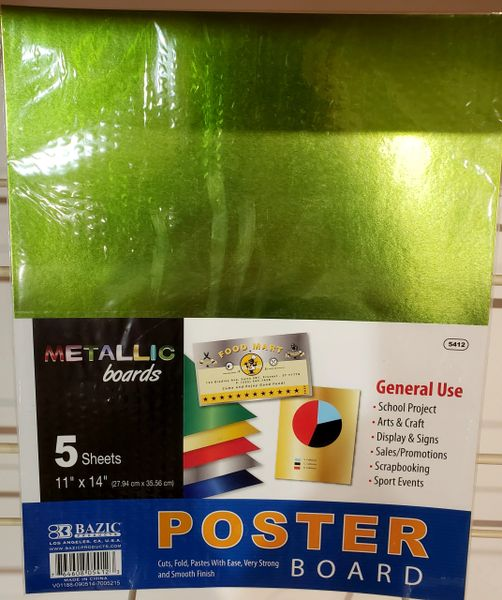 Metalic Poster Boards