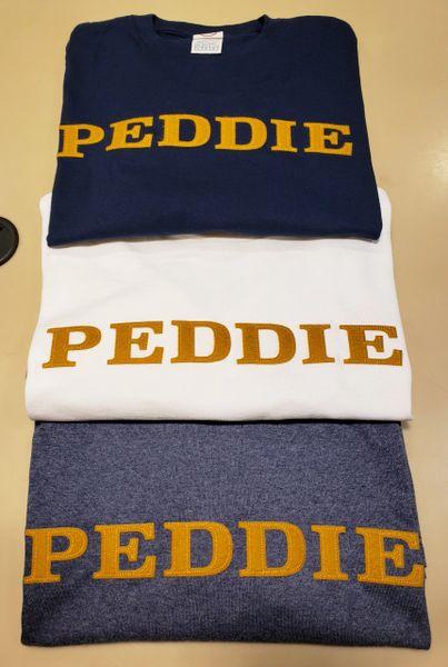 Peddie Wordmark Applique Long Sleeve Tee