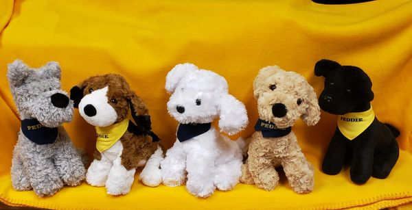 Peddie Plush Puppies
