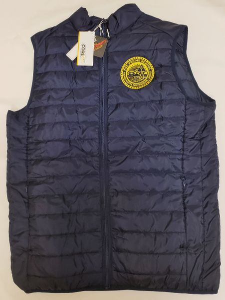 Peddie Seal Embroidered Men's Thermal Vest