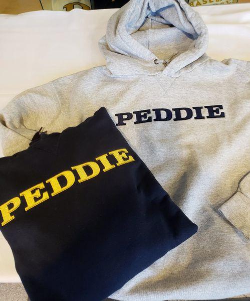 Peddie Wordmark Embroidered L.L.Bean Hoodie