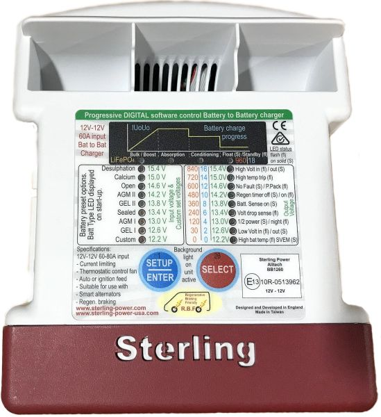 Sterling Power 24V BB242435 35A 24V to 24V / Battery to Battery Charger *NEW*