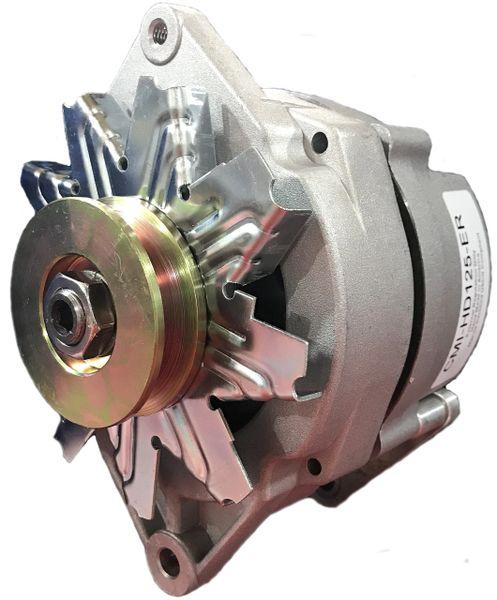 "CMI-HD125-ER - 125A 3.15"" Saddle Mount, 1"" Foot or 2"" Foot Heavy Duty Marine Alternator"