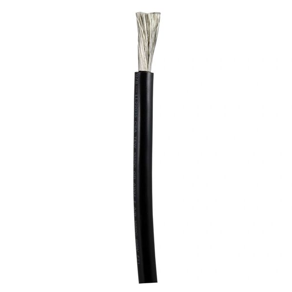 Ancor 6 AWG Battery Cable - BLACK - Per Foot: