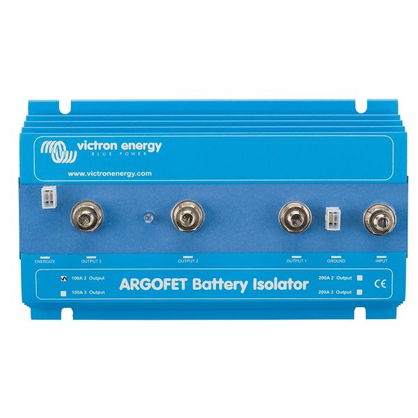 Victron ARGO FET Battery Isolator 100A Two Bank