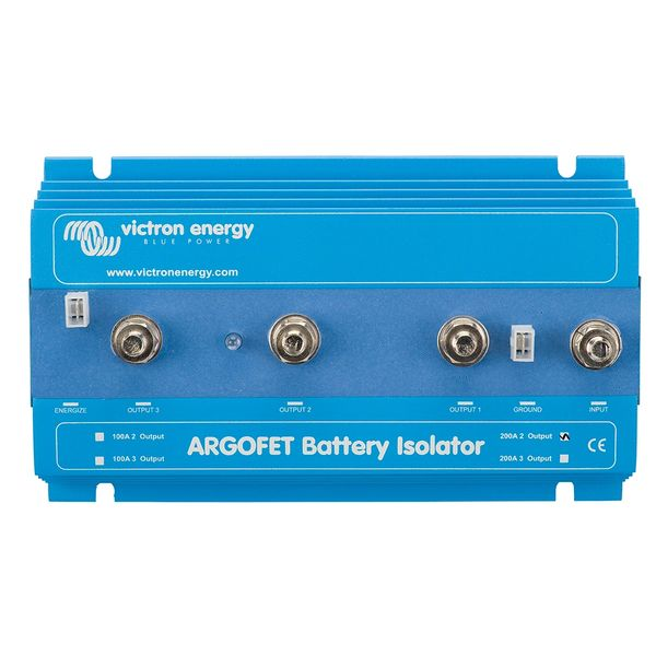 Victron ARGO FET Battery Isolator 200A Two Bank