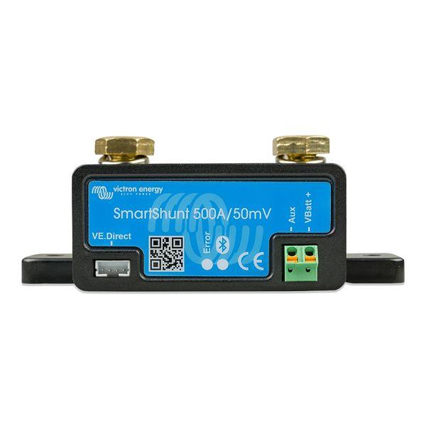Victron SmartShunt 500AMP/50MV Bluetooth Smart Battery Shunt