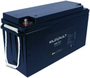 KiloVault HLX 150Ah LiFePO4 -With Built In Bluetooth Communication