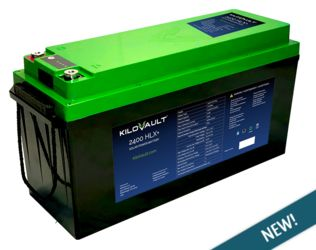 **NEW** KiloVault HLX+ 200Ah LiFePO4 -With Built In Bluetooth Communication