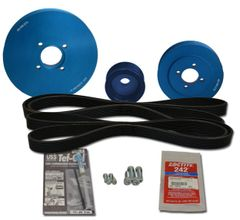 Yanmar Fit - Balmar Serpentine Pulley Kits