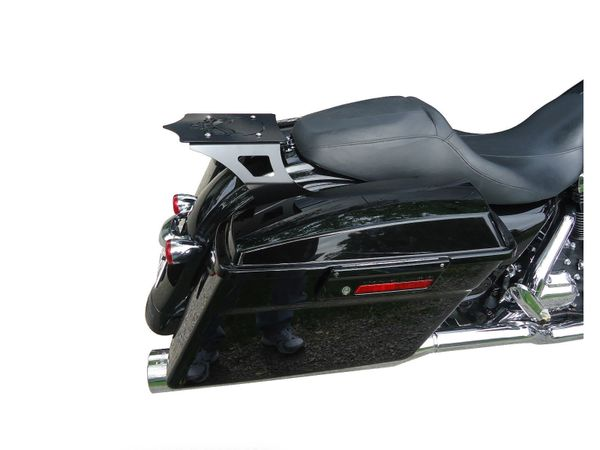 Harley Davidson Street Glide Road Glide Road King Luggage Rack, For use with no factory docking kit